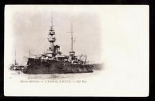 c.1905 ND Phot  L'Amiral Baudin military ship France postcard