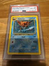 2001 Pokemon Neo Discovery PSA 8 Kabutops 6/75 NM NEAR MINT Holo