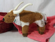 "Douglas Cuddle Toy 9"" Fidelity Investments Longhorn Bull Plush 2014"