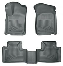 2011-2013 Jeep Grand Cherokee Husky WeatherBeater Front & 2nd Row Floor Liners