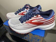 New Brooks Launch 6 Size 8.5 Womens Stars and Stripes USA Old Glory 4th of July
