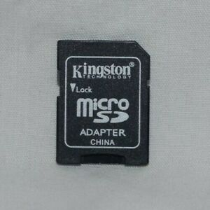 Used Kingston & Generic Micro SD to SD Card Adapters