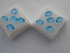 Swiss Blue Topaz Gemstone Ovale 8x6mm