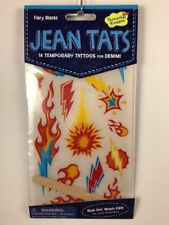 Jean Tats Fiery Blasts Tattoos For Denim Clothing New In Packaging
