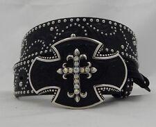 Tony Lama SOUTHWEST CROSS Leather  Belt Size 34  NWT  C50583