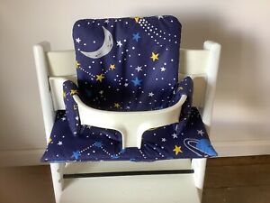Cushion to fit Stokke Tripp Trapp High Chair Sky At Night BNIB