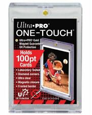 Ultra Pro One Touch Magnetic Card Holder 100pt With UV Protection Thick Cards