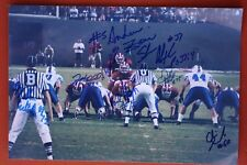New listing ANDREW ZOW 1ST SNAP AT ALABAMA FOOTBALL SIGNED 8X11 MULTIPLE SIGNATURES PHOTO