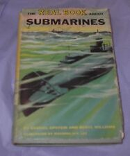 Real Book about SUBMARINES by Epstein & Williams DELuxe 1954 First Edition HCDJ