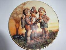 """Goebel Wandteller """"mit M.J. Hummel durch das ganze Jahr"""" unser erster Schultag"""