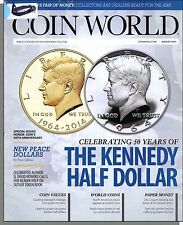 Coin World - 2014, August - Celebrating 50 Yeras of the Kennedy Half Dollar