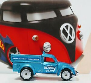 Hot Wheels 2019 VHTF ◼ VW BEETLE TRUCK (Custom w/RRs)◼ ** PLESSE READ**