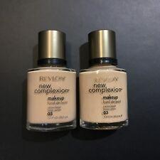 REVLON NEW COMPLEXION MAKEUP (03#- CAMEO BEIGE) X 2 Bottles