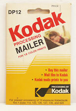 Kodak DP-12 Prepaid Processing Mailer for Color Film - Collection/Display Only