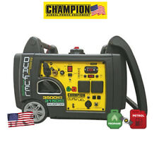 Champion 73001i-DF 3500 Watt Dual Fuel Generator UK  2 x 240v  3 Pin UK Spec NEW