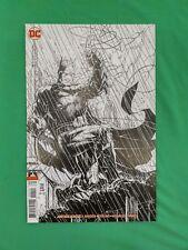 Justice League #1 1:25 Jim Lee Batman Virgin B&W Sketch Variant DC 2018