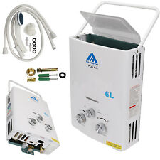 Home 6L Instant Portable Propane LP Gas Tankless Hot Water Heater Boiler Gift