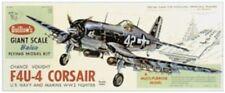 F4U4 Corsair Guillows Balsa Wood Model Airplane Kit #1004