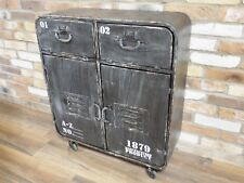 Industrial Vintage Chest Of Drawers Bedside Storage Display Cabinet