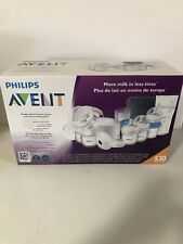 Philips Avent Double Electric Breast Pump with Bonus Feeding Pack  Brand New