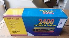 Peripherals Hook-Up 2400 SE External Modem 044-502501-000