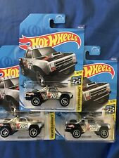2020 Hot Wheels Zamac~1987 Dodge D100~lot of 3~FREE SHIPPING in the US!