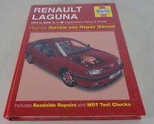 Haynes Taller Manual Manual/Manual de Reparación Renault Laguna I Año Fab.