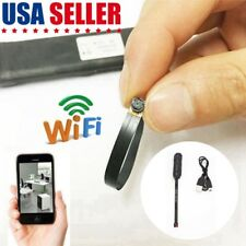 Mini WIFI 1080P HD Spy Hidden Camera HD Pinhole DIY Mini Micro DVR Nanny Cam US