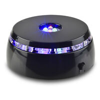 Asente Lights 4 LED Round Color Light Stand Base for Crystals/Glass Art