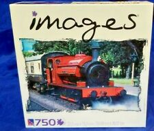 New Puzzle Images 750 Piece Puzzle Red Steam Engine Gloucestershire Railway