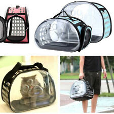 Dog Cat Backpack Puppy Pets Carrier Bag Astronaut Capsule Space Portable Outdoor