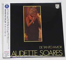 CLAUDETTE SOARES / De Tanto Amor JAPAN CD Mini LP w/OBI THCD-294 NEW!!