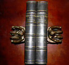 """Duyckinck's """"History of The War for The Union"""" Vol. I and II 1861 VGC"""