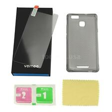 Phone Protective Case and Tempered Glass Screen Protector for vernee Thor E S8H6