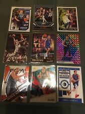 Luka Doncic Basketball Card Lot With Rookie Card. RC. Pink Mosaic. Luminance