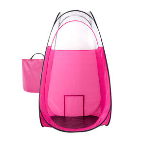 Pink Spray Tanning Tent with Carry Bag