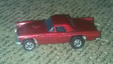 VINTAGE 1981 Hot Wheels '57 T-Bird METALLIC RED Black Wall GREAT CONDITION car