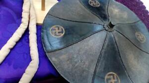 Family crest  About 300 years ago Sankin-kotai Japanese hat helmet Edo Kabuto