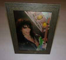 "Steve Vai Picture Framed (From Old Circus Magazine Poster 8&3/8""X6&3/8 """