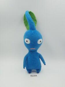 """Pikmin B2308 Blue Leaf Sanei Beanie 2001 NOTUSHTAG Plush 6"""" Toy Doll japan"""