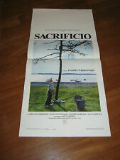 LOCANDINA,Sacrificio (Offret),1986,Erland Josephson,Andrej Tarkovskij,Wollter