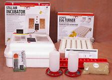 Little Giant Egg Incubator 9300 w Fan | Turner | Candler | Feeder Kit - Goose