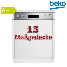 Beko Einbau Geschirrspüler teilintegriert DSN04N11X , neu A+ Edelstahl