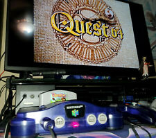 Clear Grape Funtastic Purple Nintendo 64 N64 Console w/ controller