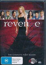 Revenge The Comlete First Season One DVD NEW 1st Region 4