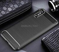 For Huawei P20 Pro Carbon Fibre Gel Case Cover Ultra Slim Shockproof Hybrid