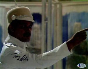 TONY OSOBA SIGNED 8x10 PHOTO KRACAUER DR. DOCTOR WHO BBC RARE BECKETT BAS