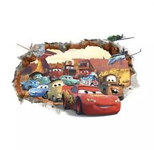 Cars Auto XXL Lightning Mcqueen Wandtattoo Sticker Wand Deko Kinderzimmer Jungen