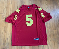 University of Southern California USC Nike Reggie Bush Football Jersey Mens XL