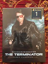 The Terminator Film Arena Black Barons #1 Blu-Ray Steelbook Full Slip BRAND NEW